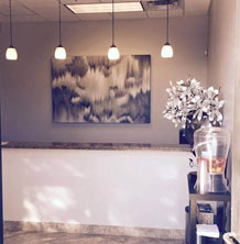 Anderson Dental reception area